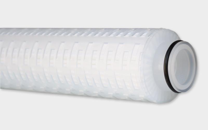 Filterkerze aus aus asymmetrischem Polyethersulfon