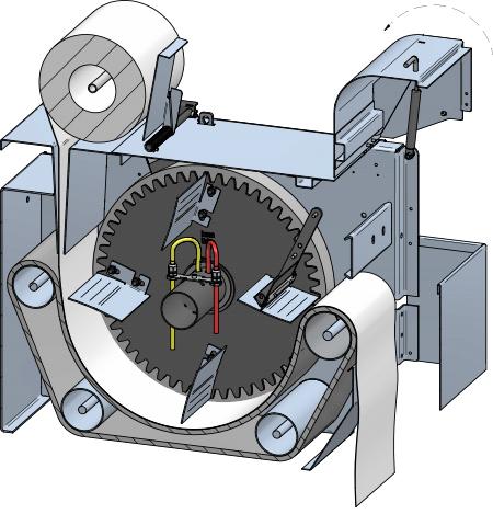 Mit Patentiertem Späneaustragsystem
