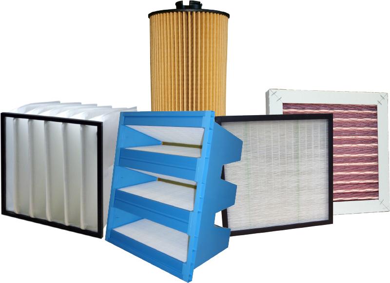 Kompaktfilter, Erodierfilter, Taschenfilter, Z-Line Filter